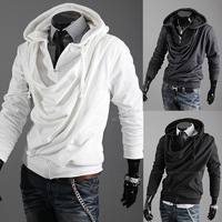 Free Shipping 2013NEW Hot High Collar Men's Jackets ,Men's Sweatshirt,Dust Coat ,Hoodies Clothes,cotton wholesale