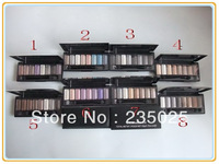 (6pcs/lot)2013 HOT SELLING!!! MC 8 color eyeshadow eye shadow makeup palette(8 choices) Dropshiping free shipping