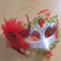 Free shipping 5pcs/lot  Masquerade masks halloween props princess mask half face mask female