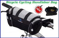 New Cycling Bicycle Handlebar Front Tube Pannier Rack Bag Basket Bike Front Frame Bag 5pcs/lot  Freeshipping Dropshipping