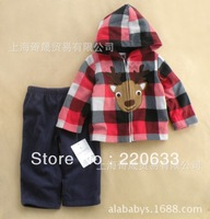 Carter Brand,new 2013,autumn,winter clothing,newborn,baby boy clothes,children outerwear,long sleeve,children hoodies suit
