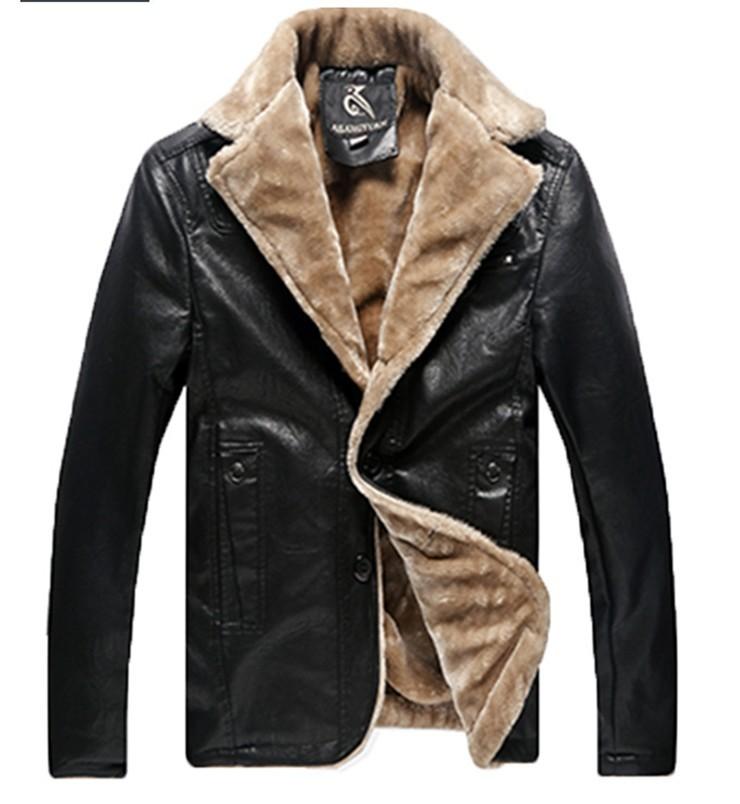 Модные мужские куртки с мехом