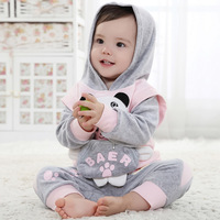 2013 children's clothing autumn male female child cartoon newborn baby clothes baby set child clothes