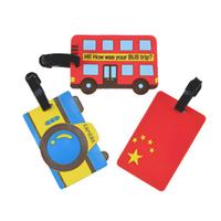 BUS bus Korea irregular document sets new bus card sets luggage tag tag box full seven colors Free shipping