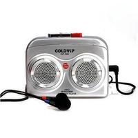 Portable Silver Tape Cassette Sound Voice Recorder Player