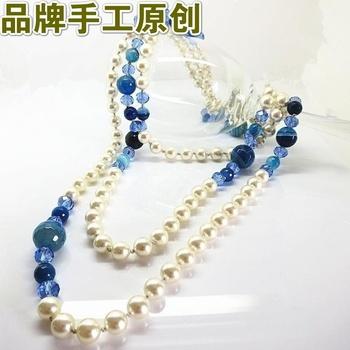 популярные моде длинные дизайна Рябчик бисера ожерелья ювелирные изделия уникальные старинные.