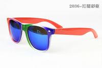 Free Shipping New Fashion Women Sunglasses Lady Sunglasses Brand Of Anti-UV Sunglasses For Women  2036