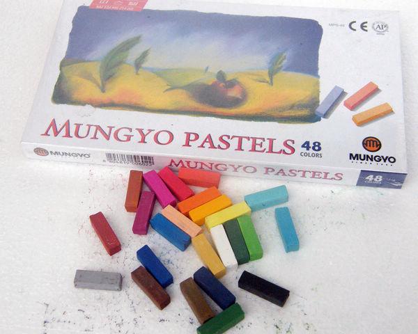 Temporary Hair Pastel 48 colors/Box Chalk Bug Rub Hot selling hair chalk 5 sets Soft Pastels(China (Mainland))
