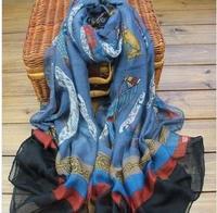 Женский шарф 22 splash