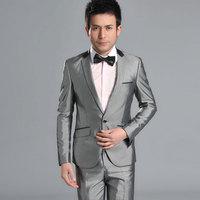 Men's clothing slim suit suits work wear the groom formal dress married suit male suit