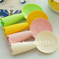 Free shipping creative kitchen tableware,candy colors' upright dinner spoon,wholesale