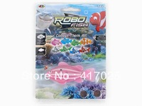 2013 Christmas gift  Kids Toys Children Gift swimming fish ROBO FISH Water Activated Magical Turbot Fish 4pcs/lot