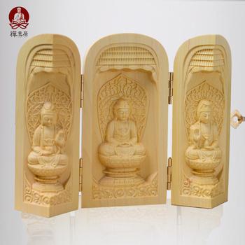 Fokan querysystem sherbin woodbines trinity bodhisattva wood decoration