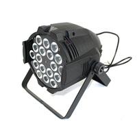 6pcs/Lot Free shipping,18pcs 8w 4in1 led RGBW mixing DMX led par,high power indoor led par light