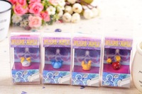 24pcs/lot 2013 New Arrivals cute stitch duck mikey winnie 3.5mm Dust plug  for iPhone4s 5 5s 5c HTC SAMSUANG Free shipping
