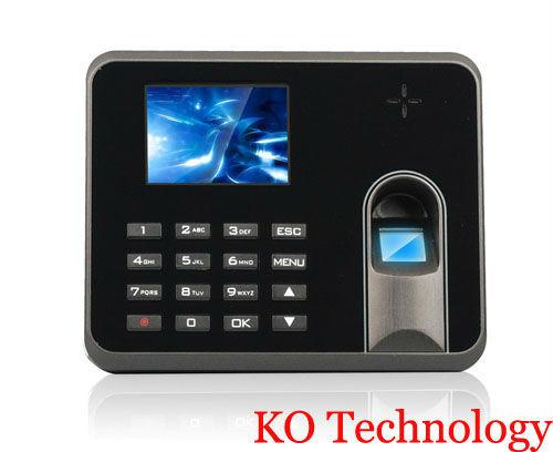 Fingerprint Time Attendance Machine KO-M5 support TCP/IP standard for employee attendance system(China (Mainland))