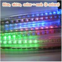 110V-220V-8 set(blue, white, color -3 sets)24pcs-9m LED Meteor Tube-LED lighting outdoor IP65 waterproof - Free Delivery