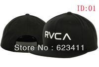 RVCA Snapback hats men's classic baseball caps 3 styles sun-shading hat top quality Free Shipping