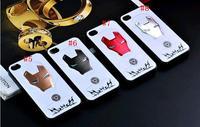 25pcs/lot.3D Cartoon Case,3D Iron Man Style Hard Back Cover Case For Iphone 5/5S Case,Mix Color