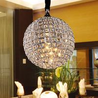Free shipping Brief k9 modern crystal pendant lamp art pendant light ball circle md3754 b