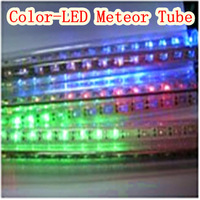 110V-220V-(8 set)(color)3m LED Meteor Tube-LED lighting outdoor IP65 waterproof - Free Delivery