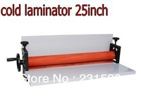 Manual cold roll laminator laminating machine 650mm width 25inch
