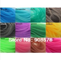 Non-Metallic Tube Crin Ideal for fashion/textile/design or modelling 120 yards - 20 colors available