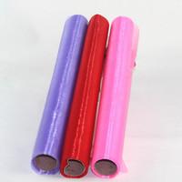 Free shipping organza rolls for wedding decoration 48cm*8m/roll
