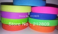hotsale sports wristband basketball  silicone bracelet  assorted 9 colors 100pcs/lot  free shipping