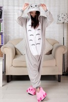 Kigurumi Pajamas Totoro Cosplay Pyjamas Costume Hoodie Adult Onesie party Dress S M L XL free shipping