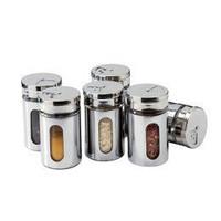 Free shipping Condiment bottles glass sauce pot seasoning bottle spice jar kitchen supplies seasoning box sambonet