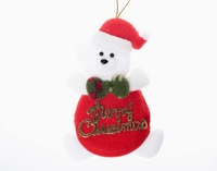 2013 New Christmas Present Lovely Letters Snowman One Piece Red SD12110105-1