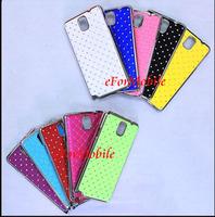 Slim Hard Case Fashion Cover Mobile Phone Case  Aluminum Chrome Case Samsung Galaxy Note 3 N9000 N9002 N9005