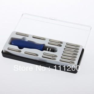 15pc Screwdriver Torx T5 T6 T8 T10 T15 Bit PH Tool Set Brand New