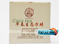 high quality century-old factory dawn tea 2012 tea ecological Ban Zhang [spring ecological brick] 80 grams of raw tea brick tea