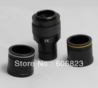 New Microscope 1X C-mount adapter 4 CCD Camera Digital with 2 Eyepiece adapters
