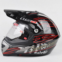 Ls2 helmet ls2 off-road helmet dual 433 off-road helmet black