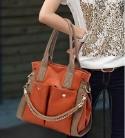 High quality women's handbag briefcase shoulder bag large bag women's