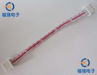 10pcs/lot Hongbai xh cable 3p double slider xh-3 2.54mm long 10cm p
