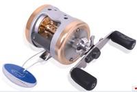 Free Shipping JG3530 Full Aluminum Alloy Body Drum Trolling Baistcasting Reel Wheel