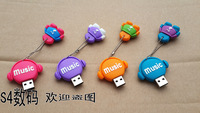 Free Shipping +Tracking Number 1PC Music Daren Creative 32G USB2.0 Flah Memory Stick USB Disk 32GB Christmas Gift