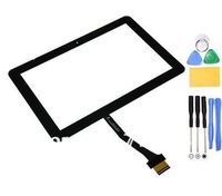 Front Glass Touch Screen for Samsung GT P7500 Galaxy Tab Black +tools