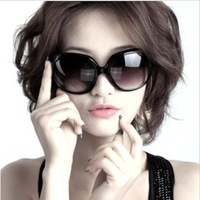 Free shipping 2014 fashion men sunglasses large frame sunglasses black fashion classic fashion sunglasses women