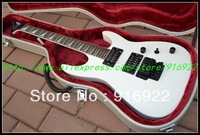 2013 new arrival Jackson best-selling of white electric guitar free shipping One neck (No Scarf)