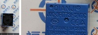 10pcs/lot 12v relay t73-12vdc relay 5 blue