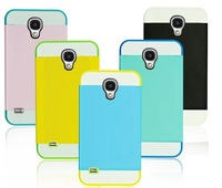 Genuine Snow news CASE S4 i9500 cell phone protective cover triple collision color mobile shell shock
