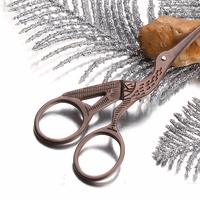 Free shipping French zakka vintage scissors copper series scissors