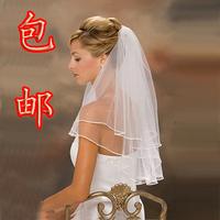 The bride wedding dress formal dress veil the wedding veil ribbon veil fashion hot-selling