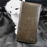 Long design stripe Men wallet male wallet male wallet multi card holder