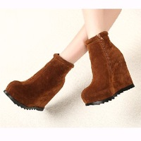 Autumn and winter classic vintage fashion elevator tyre boots platform martin boots